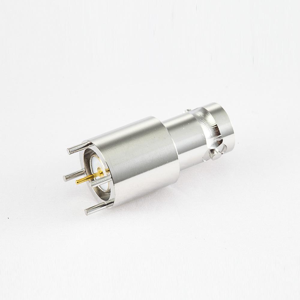 PCB安装BNC连接器母头直插孔50ohm