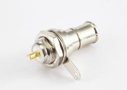 BNC公头直式螺母焊接安装式座子