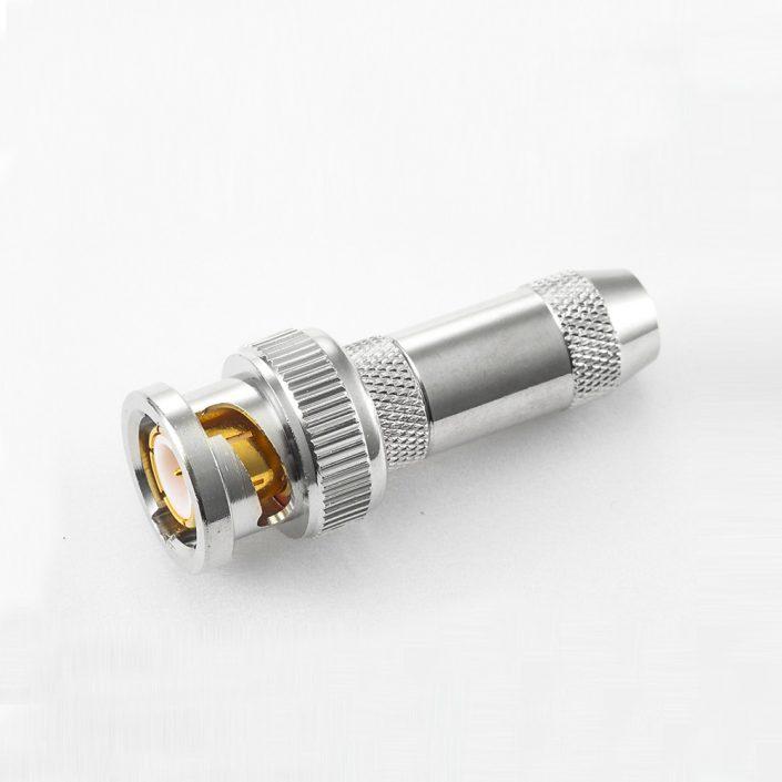 BNC 75Ω直式公头压接RG179/SYV75-1.5电缆
